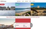 screenshot http://www.hoteldelisle.fr hotel lyon