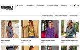 screenshot http://www.hypnotik.fr/ hypnotik.fr est specialiser dans la vente de vetement hip hop