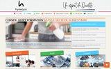 screenshot http://www.hysequa.fr formation conseil audit hysequa