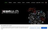 screenshot http://www.iconsa.ch hébergement serveur