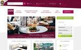 screenshot http://www.idealgourmet.fr idéal gourmet restaurant cadeau