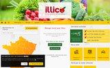 screenshot http://www.illicomesproduitslocaux.fr illico mes produits locaux