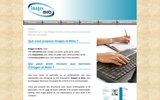 screenshot http://www.images-et-mots.fr écrivain public