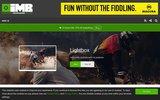 screenshot http://www.imbikemag.com/ international mountainbike magazine