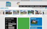 screenshot http://www.immoaxess.com logement à louer, maison, terrain à vendre, condo,