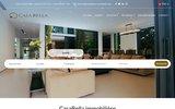 screenshot http://www.immobiliere-casabella.com agence immobilière tunis et immobiliere sousse
