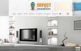 screenshot http://www.impact-immobilier.fr acheter vendre maison appartement à wattignies