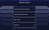 screenshot http://www.inde-du-sud.com circuits organisés en Inde du sud