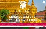 screenshot http://www.indosiam.com indo-siam, voyages en asie