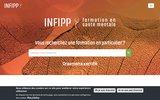 screenshot http://www.infipp.com concours personnel de santé