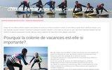 screenshot http://www.infos-colos-colonie-de-vacances.fr recherche colonie vacance pour adolescents, voyages éducatifs et camps de vacances