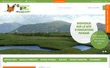 screenshot http://www.innovpaysage.com/ matériels pour les professionnels des espaces verts