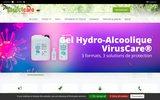 screenshot http://www.insectcare.com/ Protections anti-moustiques et anti-insectes d'origines végétales
