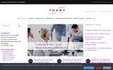 screenshot http://www.inserrh.com logiciels formation, compétences, recrutement