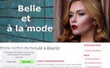 screenshot http://www.institut-beaute-biarritz.fr centre de beauté à biarritz 64