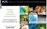 screenshot http://www.ipc-sa.com ipc - produits d'hygiène et de maintenance