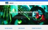 screenshot http://www.istech.fr istech spécialiste de la traçabilité industrielle