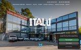 screenshot http://www.italu.com volets pvc et alluminium grasse mougins  italu