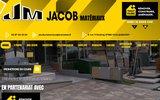screenshot http://www.jacob-materiaux.fr tout faire matériaux: jm jacob