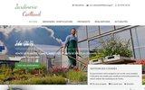 screenshot http://www.jardinerie-caillaud-86.com création et entretien jardins, vienne 86