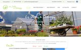 screenshot http://www.jardins-chateaugay.com Jardinerie