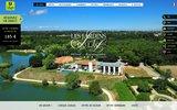 screenshot http://www.jardins-du-lac.com Hotel Rochefort