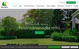 screenshot http://www.jardins-paysages-09.com jardins et paysages