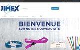 screenshot http://www.jimex.be bracelets évènementiels
