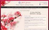 screenshot http://www.joelle-grenier.fr sophrologie et qi gong à lyon - joëlle grenier