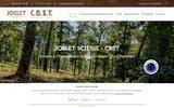 screenshot http://www.joslet-cbst-stbois.com scierie et exploitation forestière en charente 16