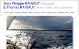 screenshot http://www.jprainaut.com un skipper, un globe