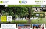 screenshot http://www.kastelldinech.com/ Hôtel à Tréguier
