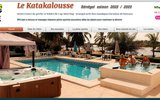 screenshot http://www.katakalousse.com hotel au senegal voyage séjour au katakalousse