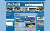 screenshot http://www.kazakayak.com kaz a kayak magasin de kayak en guadeloupe