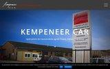 screenshot http://www.kempeneercar.be carrosserie kempeneer car.