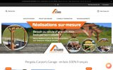 screenshot http://www.kitabris.fr abris