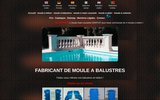 screenshot http://www.kleinjck.com fabricant de moule a balustres, balusterform, baluster molds, mould, molde para balaustres, stampi de balaustre, molde para balustres, van mal a balus