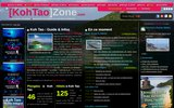 screenshot http://www.kohtaozone.com koh tao