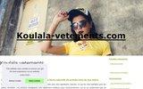screenshot http://www.koulala-vetements.com vêtements et accessoires pour le voyage aventure