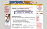 screenshot http://www.kserv.fr robot referenceur de sites ou de blog sur internet