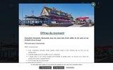 screenshot http://www.la-cremaillere.com/ hôtel restaurant