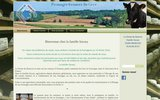 screenshot http://www.la-ferme-du-hourcot.com la ferme du hourcot