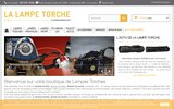 screenshot http://www.la-lampe-torche.com lampe torche