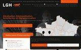 screenshot http://www.labogh.fr laboratoire girondin d'hygiène - lgh