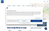 screenshot http://www.laforet-immobilier-lyon-5.com laforêt immobilier lyon 5
