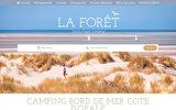 screenshot http://www.laforetstella.fr camping stella plage