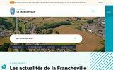 screenshot http://www.lafrancheville.fr mairie de la francheville, commune des ardennes