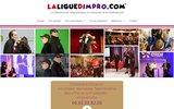 screenshot http://www.laliguedimpro.com/ La ligue impro