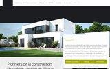 screenshot http://www.lamaisoninnovante.fr constructeur maison passive alsace - la maison innovante