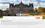 screenshot http://www.lamiraute-immobilier.com/ lamiraute-immobilier